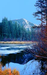 Lake in the Sangres, winter